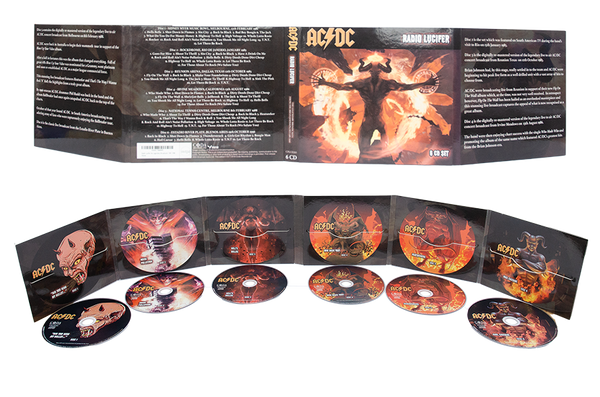 AC/DC - Radio Lucifer: The Legendary Broadcasts 1981-'96 - 6 CD Set