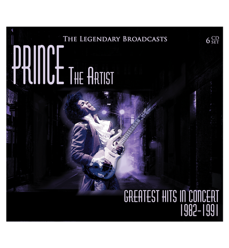 Prince - The Artist: Greatest Hits In Concert 1982-1991: 6-CD Box Set