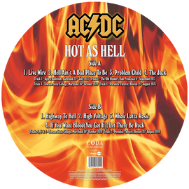AC/DC - Hot As Hell: 1977-'79 Limited Edition Picture Disc