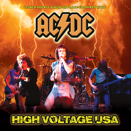 AC/DC - High Voltage USA: 10-Inch Double Album on Flame Coloured Vinyl