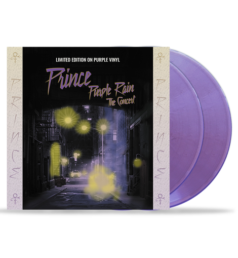 Prince - Purple Rain - The Concert: 10-Inch Double Album on Purple Vinyl in Gatefold Sleeve