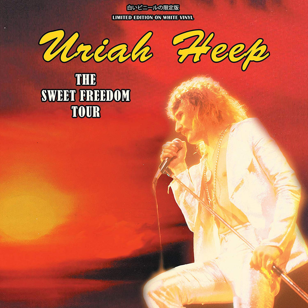 Uriah Heep - The Sweet Freedom Tour on white vinyl.