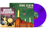 PINK FLOYD'S - ANIMALS FOR CHAMBER ORCHESTRA - BOOKZINE & BLUE VINYL SPECIAL LIMITED EDITION BUNDLE