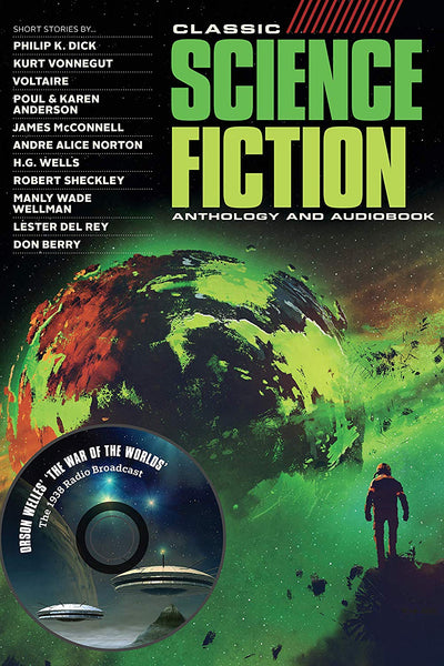 Classic Science Fiction Anthology: Special Edition Audiobook on CD & Bookzine Bundle