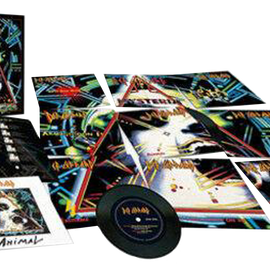 Def Leppard - Hysteria: 7 Inch Singles Box Set - 11 Singles - Classic Lift Off Box and Discography Booklet