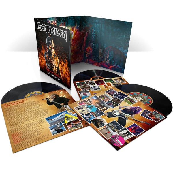 Iron Maiden:The Book of Souls Live Chapter -3 LP Triple Album