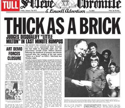 Jethro Tull  - Thick as a Brick: 2015 Reissue of 2012 Steven Wilson Remix on 180g Vinyl with 24 Page Booklet and MP3 Download