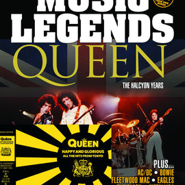 Music Legends Magazine Collector's Edition Reprint of Issue 1 - Includes Free Queen Double CD!