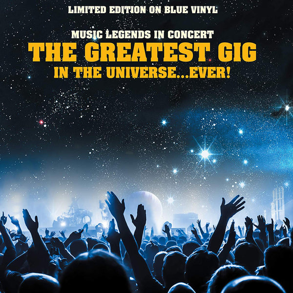 Music Legends - The Greatest Gig In The Universe...Ever ! on blue vinyl