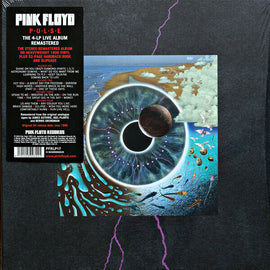 Pink Floyd - Pulse 4LP Box Set With 52 Page Hard Back Book