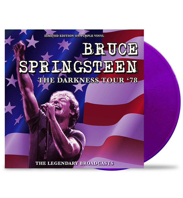 Springsteen - the Darkness Tour '78 - Bookzine & Blue Vinyl - Special Limited Edition Bundle