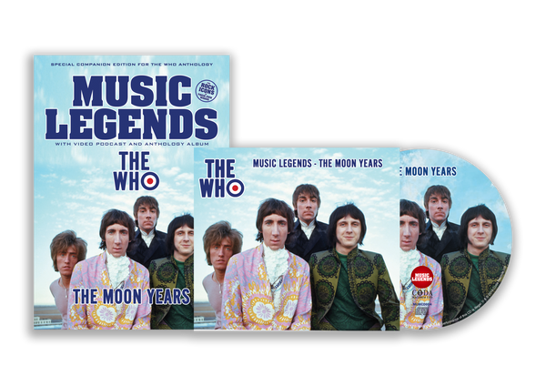 THE WHO – THE MOON YEARS: BOOKZINE & CD SPECIAL LIMITED EDITION BUNDLE