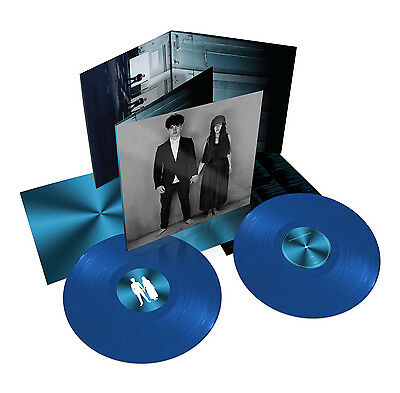 "U2-""SONGS OF EXPERIENCE"" - OFFICIAL DOUBLE ALBUM ON 180 GRAM TRANSLUCENT CYAN BLUE VINYL WITH DOWNLOAD CARD"