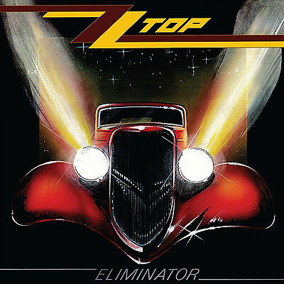 ZZ TOP: ELIMINATOR- LIMITED EDITION ON RED COLOURED VINYL PLUS DOWNLOAD CARD