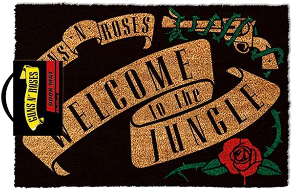 Guns N' Roses Welcome To The Jungle Door Mat