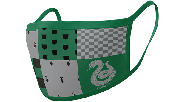 Harry Potter Slytherin Official Face Mask - Pack of 2