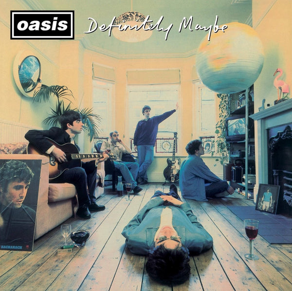 Oasis-  Definitely Maybe: 2014 Remastered Album CD - 25th Anniversary Edition