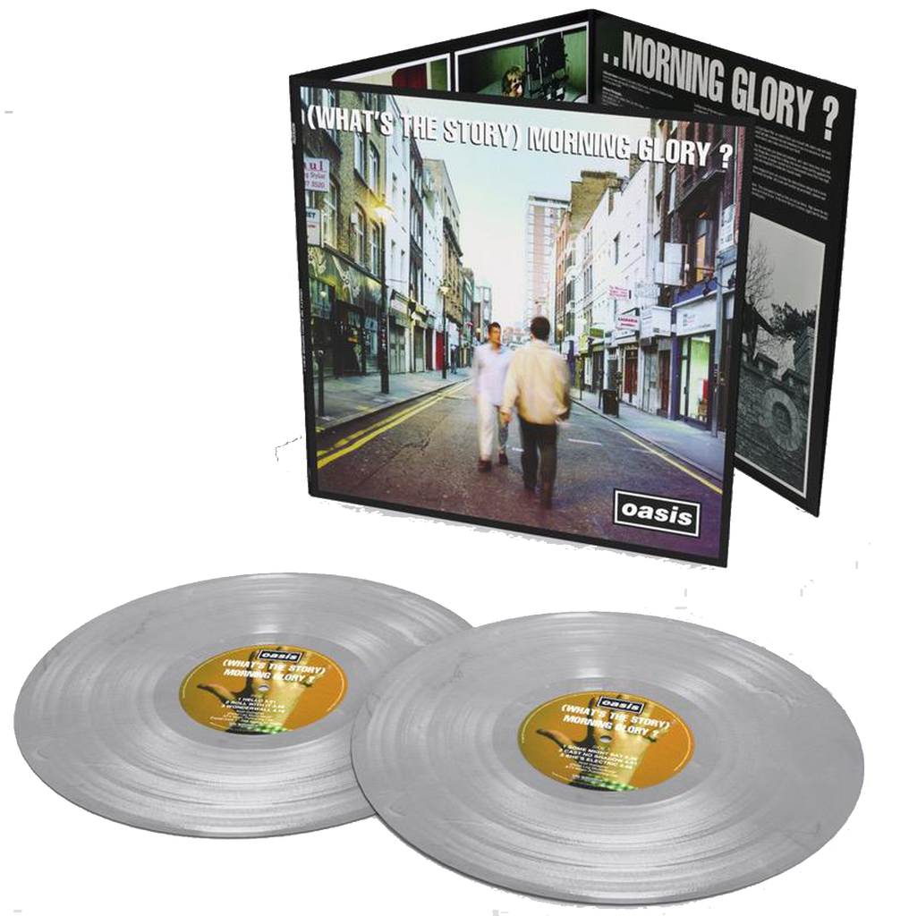 Oasis - (What's the Story) Morning Glory?: Double Album on Silver Vinyl - 25th Anniversary Edition