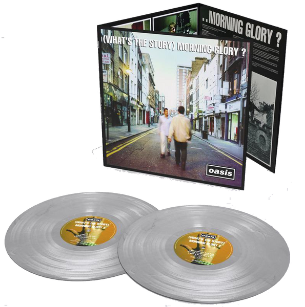 Oasis - (What's the Story) Morning Glory?: 2014 Remastered Double Album on Silver Vinyl