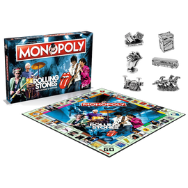 Rolling Stones Limited Edition - Monopoly The Board Game!