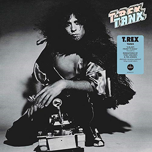 T Rex : Tanx - 2015 Remastered by Tony Visconti & Ted Jensen on 180g Vinyl with Poster