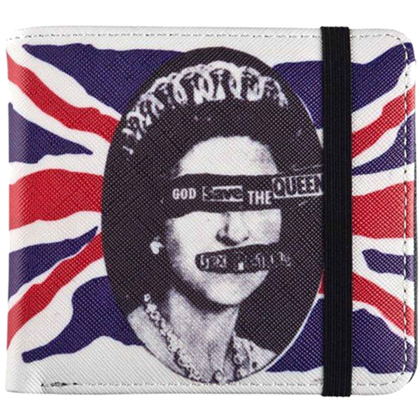 Sex Pistols God Save The Queen Wallet