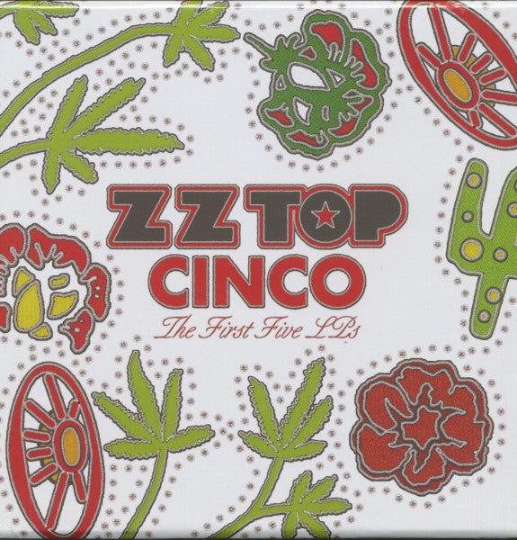 ZZ Top - Cinco : The First 5 Studio Albums -180G Vinyl 5 LP Box Set