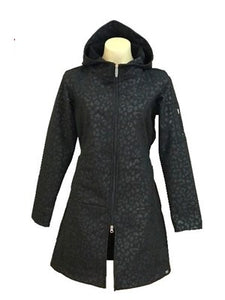 Zipper Hoodie Long Coat
