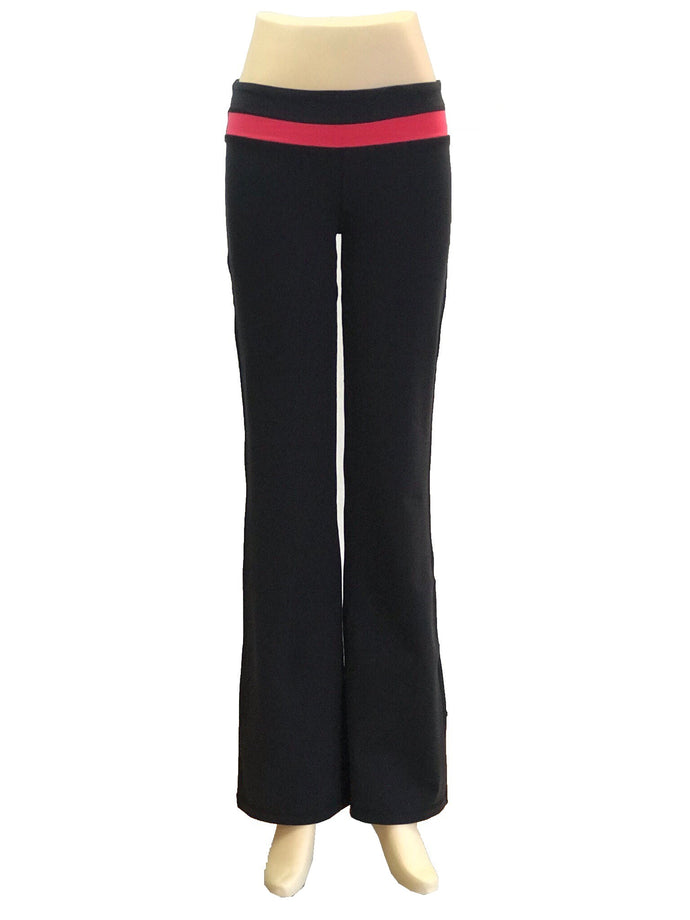 06 A Low Waist Straight Leg Pants