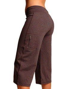 Zipper Pocket Capri