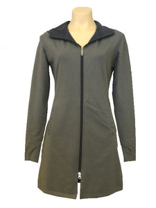 Classic Hoddie Long Coat