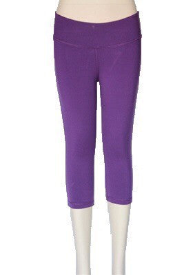 Wide Band Legging Capri