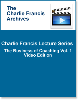 CF Lecture Series : Business of Coaching Part 1