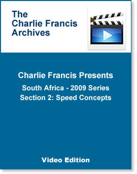 South Africa Series Section 2: Speed Concepts