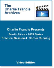 South Africa Series Practical Session 4: Corner Running