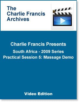 South Africa Series Practical Session 5: Massage Demo