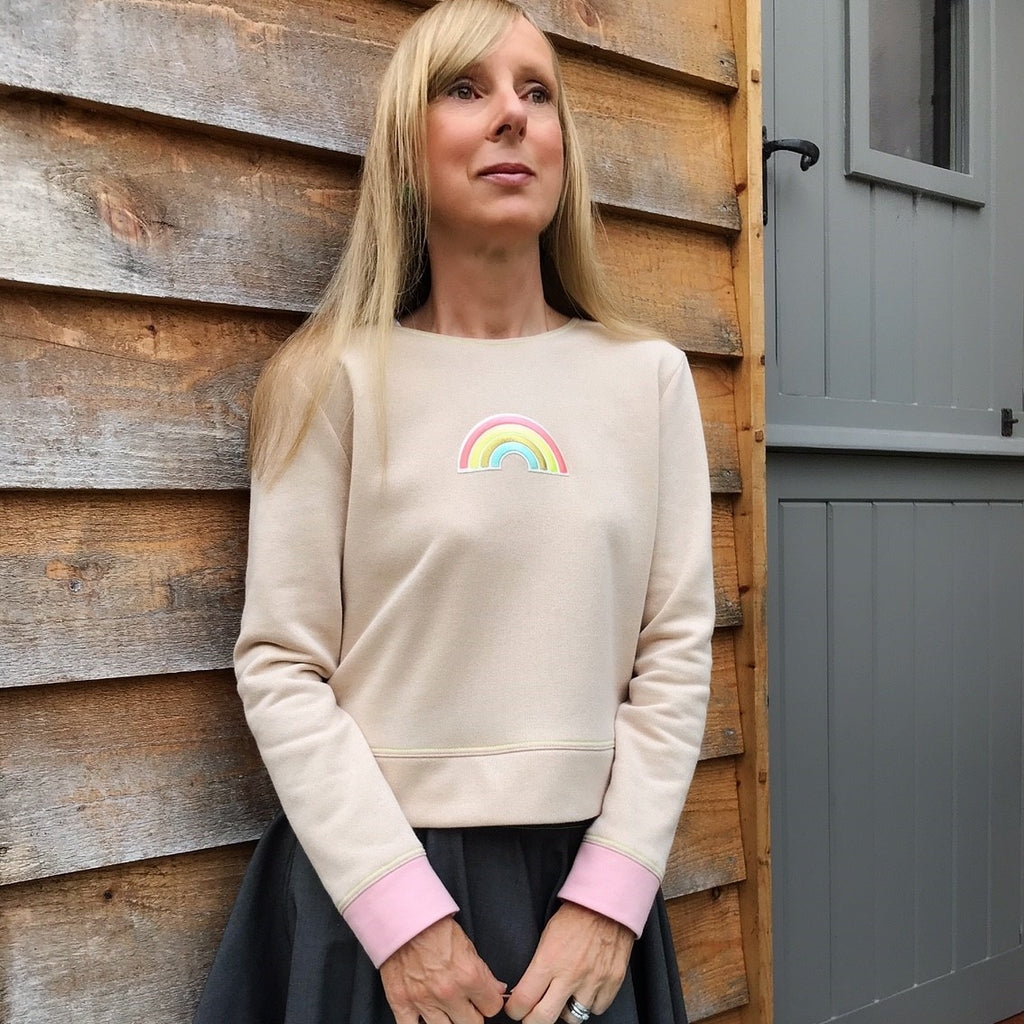 ADDING YOUR OWN STYLE: Rainbow Chestnut Sweater
