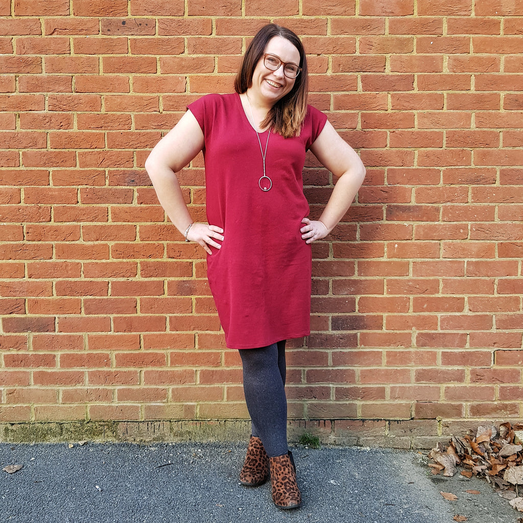 PIN & SEW MAKES : French Terry Lodo Dress