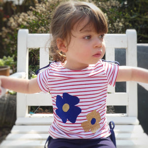 SEWING FOR KIDS: Banana Boat Tee with Vinyl Applique