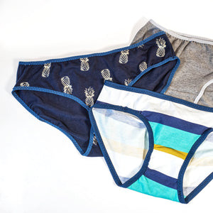 SCRAP BUSTER : Sewing underwear from jersey remnants.