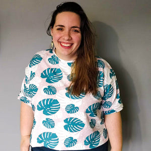 PIN & SEW MAKES: Monstera Jersey Nora Top