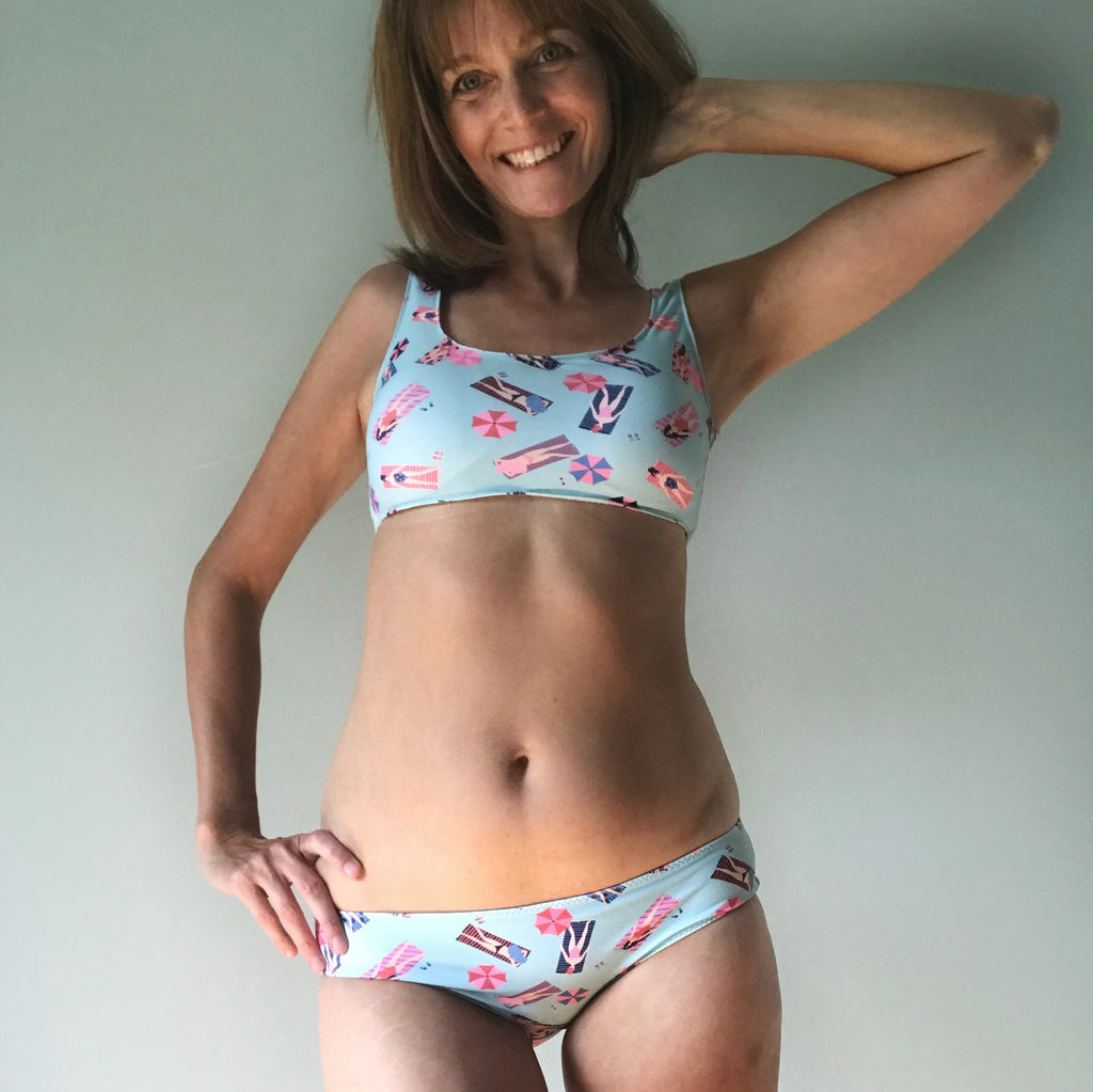 BODY POSITIVE SEWING - Cottesloe Swimsuit