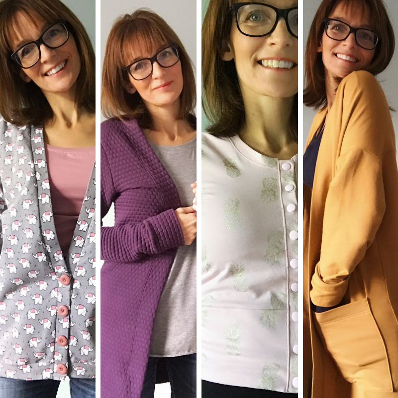 #COSYCARDICHALLENGE : Amanda's Top Cardigan Pattern Picks
