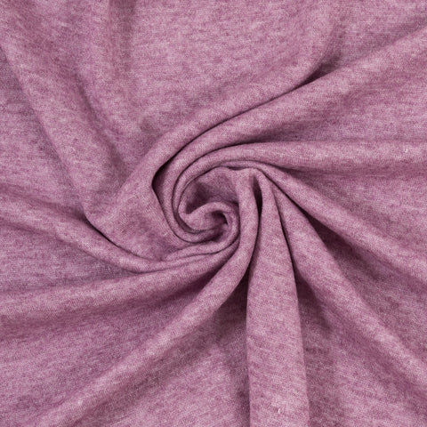 purple viscose sweater knit fabric