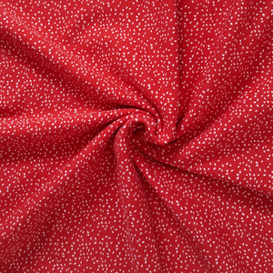 red viscose jersey knit fabric