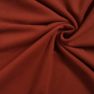 Red Wine Cotton Jersey - 180g - END OF BOLT - 53CM