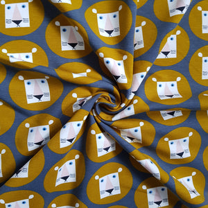 Lion Head Organic Cotton Jersey
