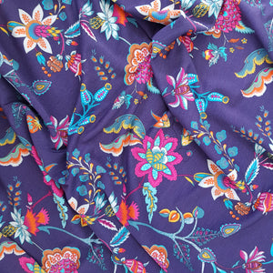 Paisley Viscose Jersey - END OF BOLT - 116CM
