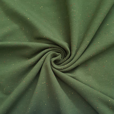 green sweatshirt fabric