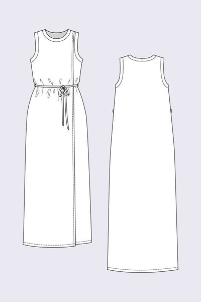 Anneli Double Front Dress and Tshirt Pattern
